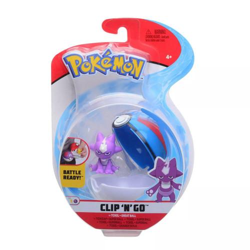 Pokemon Clip N Go - Toxel + Great Ball