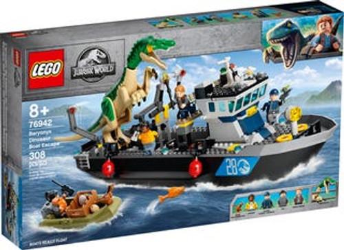 Lego Jurassic World - Baryonyx Dinosaur Boat Escape