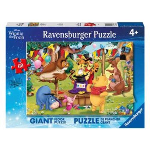 Ravensburger Disney Winnie The Pooh Magic Show Puzzle 60 Pce