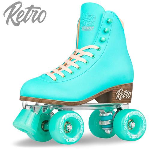 Retro Roller Skates Teal (Eu41) Mens 8/ Ladies9