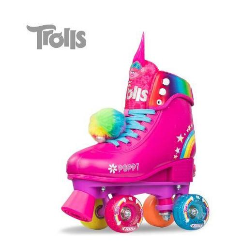 Trolls World Tour Poppy Size Adjustable Roller Skates(S12-2)