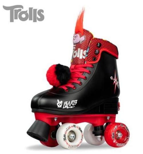 Trolls World Tour Barb Size Adjustable Roller Skates (M3-6)