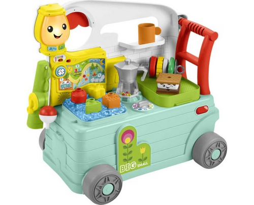 Fisher Price Laugh and Learn 3-1 On the Go Camper