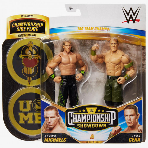 WWE Championship Showdown John Cenna v Shawn Michaels