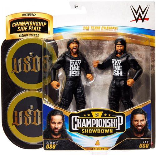 WWE Championship Showdown Jimmy Uso v Jey Uso