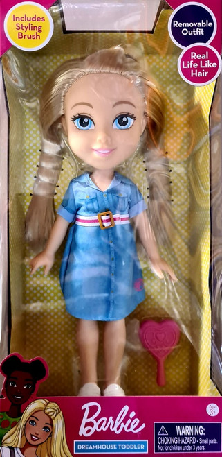 Barbie 13 Inch Toddler Doll - Dreamhouse Toddler