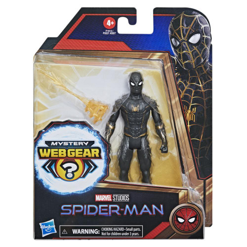 Marvel Studios Spider-Man Black/Gold Suit 6 Inch