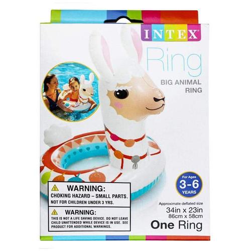 Intex Large Animal Swim Rings - Llama