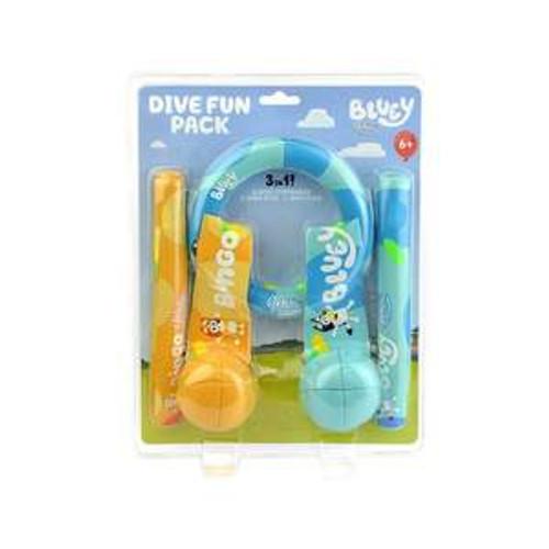 Bluey Dive Fun Pack
