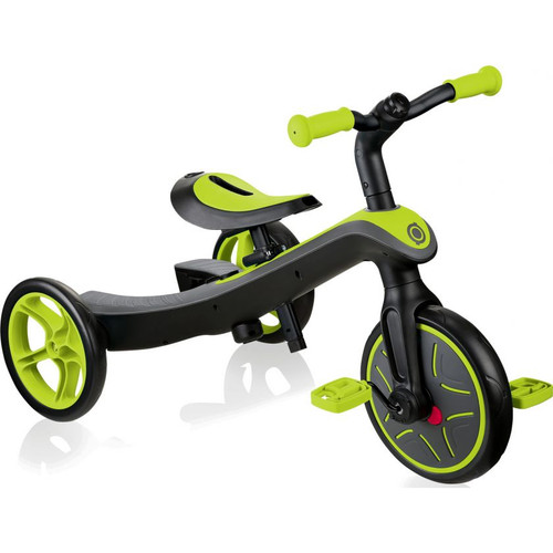 Globber Explorer Trike 2 in 1 Lime Green