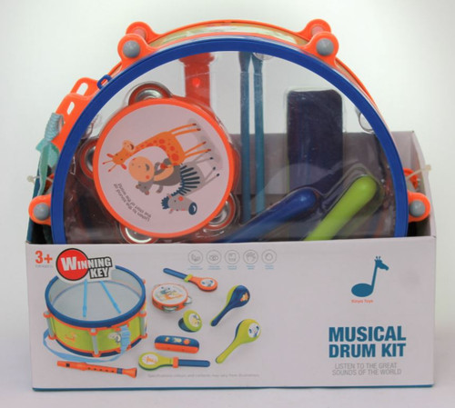 Animal Series Marching Drum with 6 Instruments