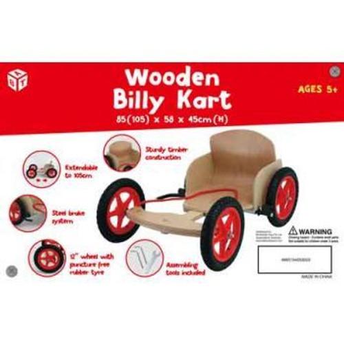 Kids Wooden Billy Cart