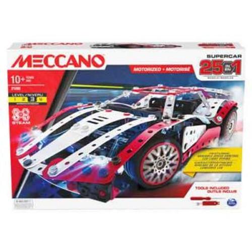 Meccano Multi Model 25 - Supercar SM6062054