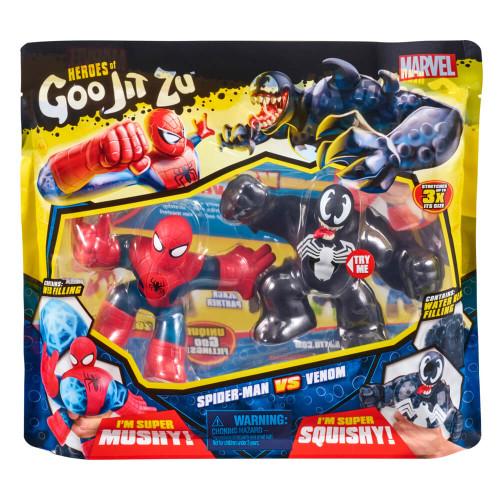 Marvel Heroes of Goo Jit Zu - Spider-Man Vs Venom