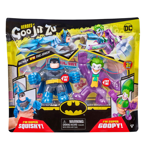DC Heroes of Goo Jit Zu - Batman Vs The Joker