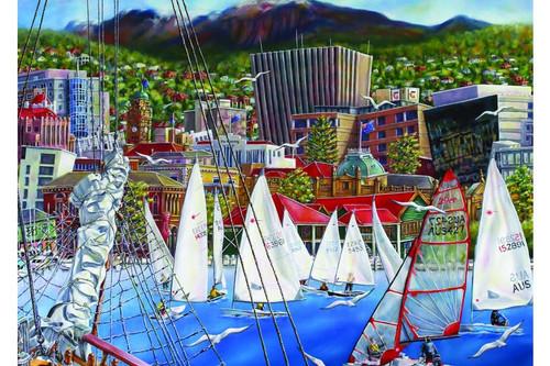 Blue Opal - Shohet Days on the Derwent 1000 pc puzzle