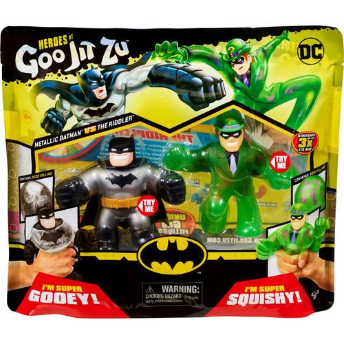 DC Heroes of Goo Jit Zu - Metallic Batman Vs The Riddler