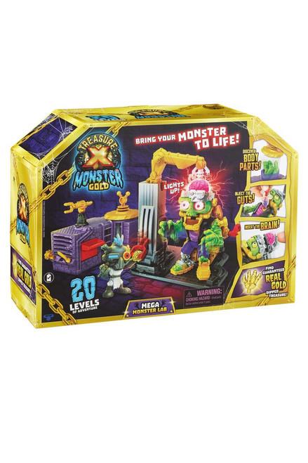 Treasure X Monster Gold Mega Monster Lab