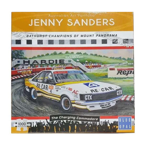 Blue Opal Jenny Saunders Commodore Re-Car 4 1000 Pce Puzzle