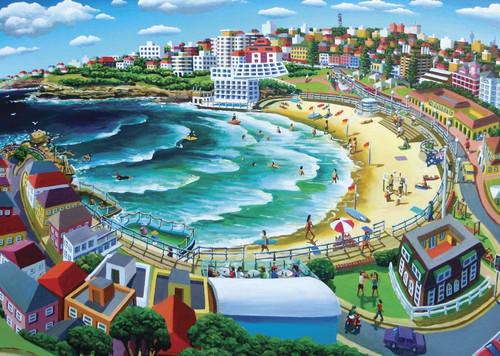 Blue Opal - Stephen Evans Bondi Beach 1000 Piece Puzzle