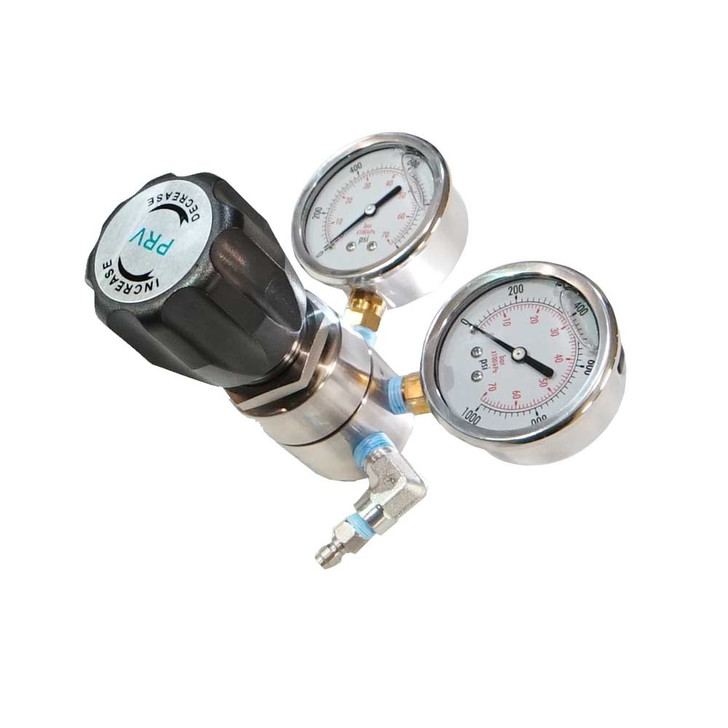 Pressure regulator for x15 and x18  flamethrowers