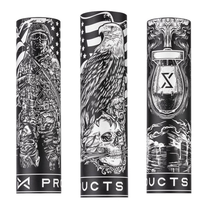 XProducts Custom Laser Engraved Can Cannon Sleeves
