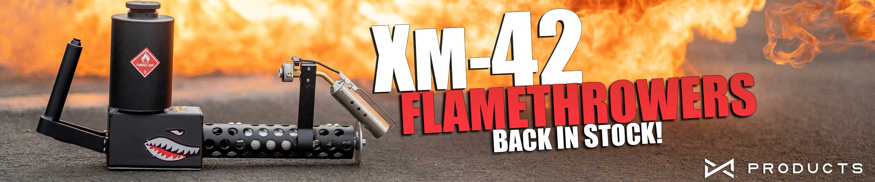 X Products XM-42 Flamethrower