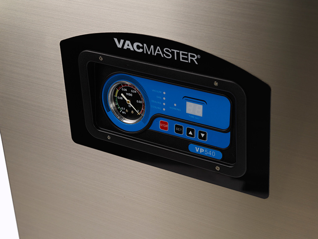 VacMaster VP540 vacuum chamber unit with easy to use controls