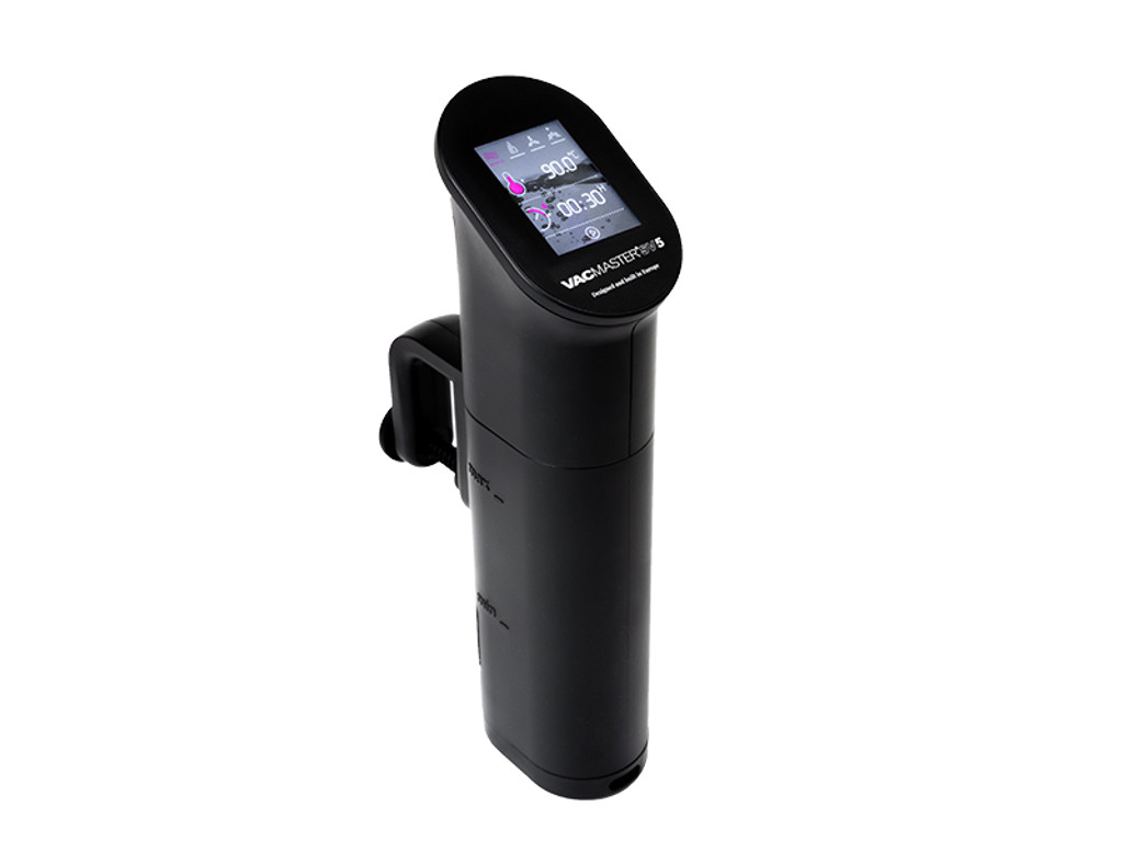 VacMaster SV5 Sous Vide Circulator touch screen