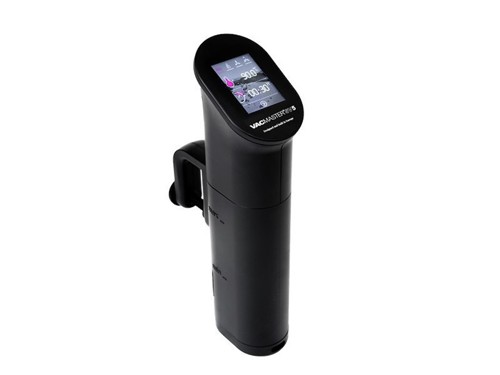 VacMaster SV5 Touch Screen Sous Vide Cooking Immersion Circulator