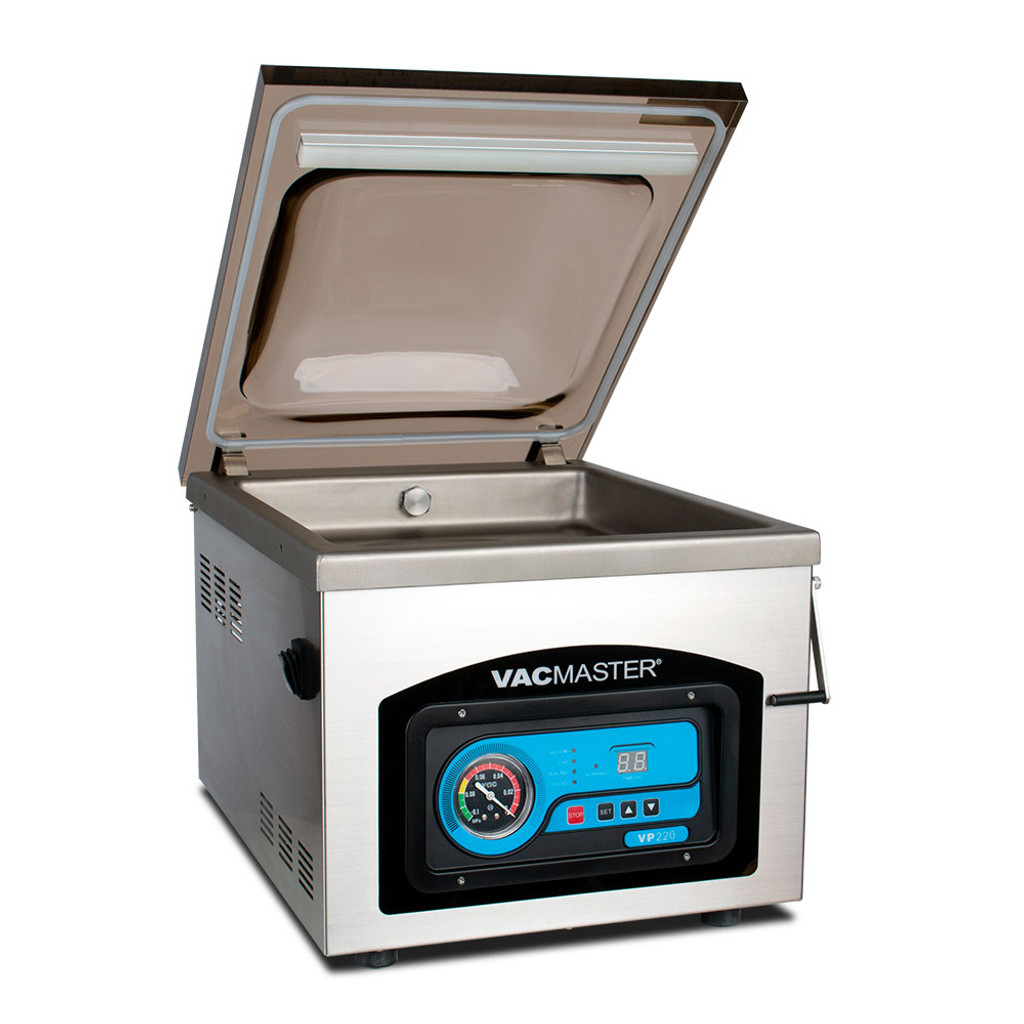 VacMaster VP220 Heavy Duty Chamber Vacuum Sealer with Opened Domed Lid