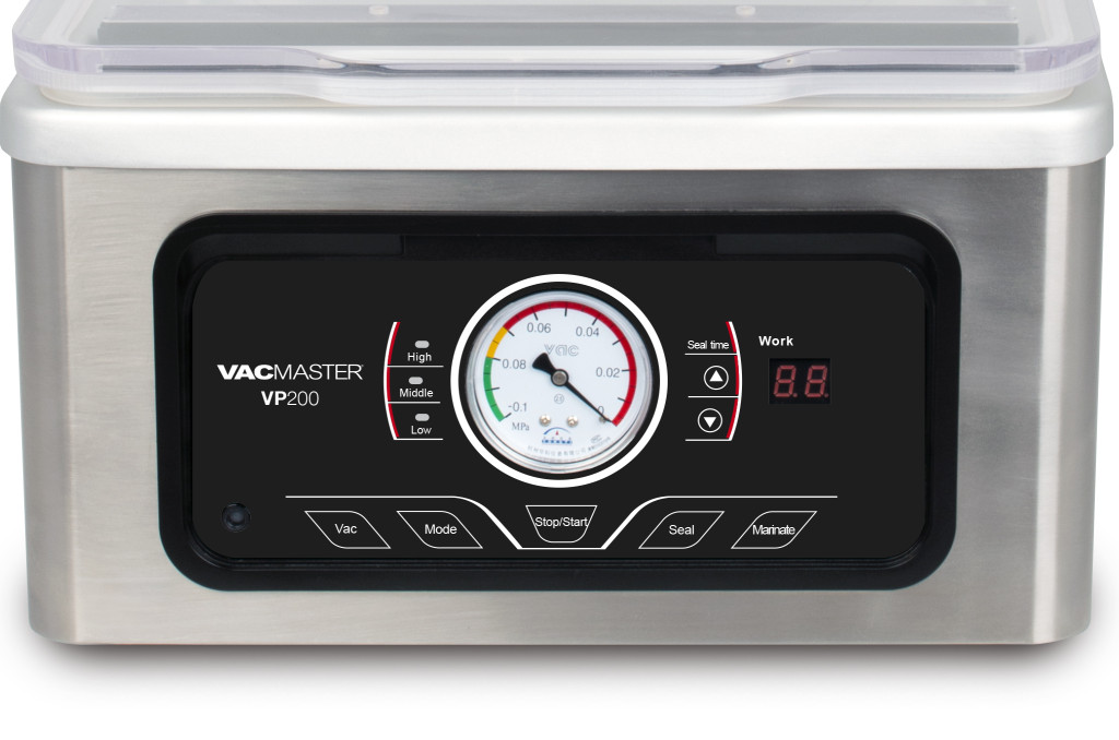 VacMaster VP200 Control Panel