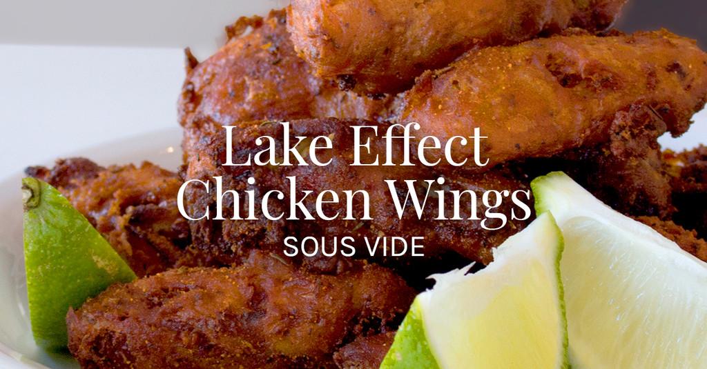 """Crispy """"Lake Effect"""" Chicken Wings Recipe"""