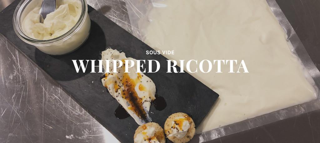 Sous Vide Ricotta Cheese Recipe