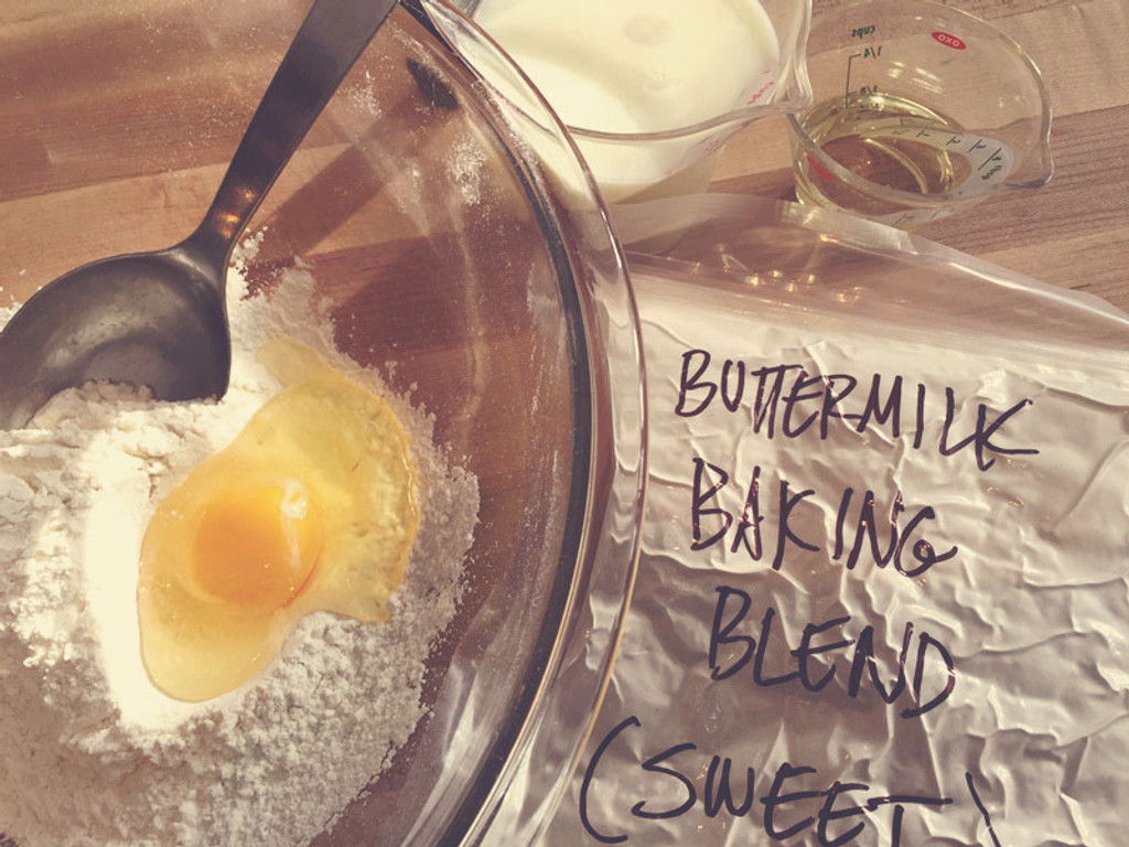 Sweet Buttermilk Pancake Baking Blend