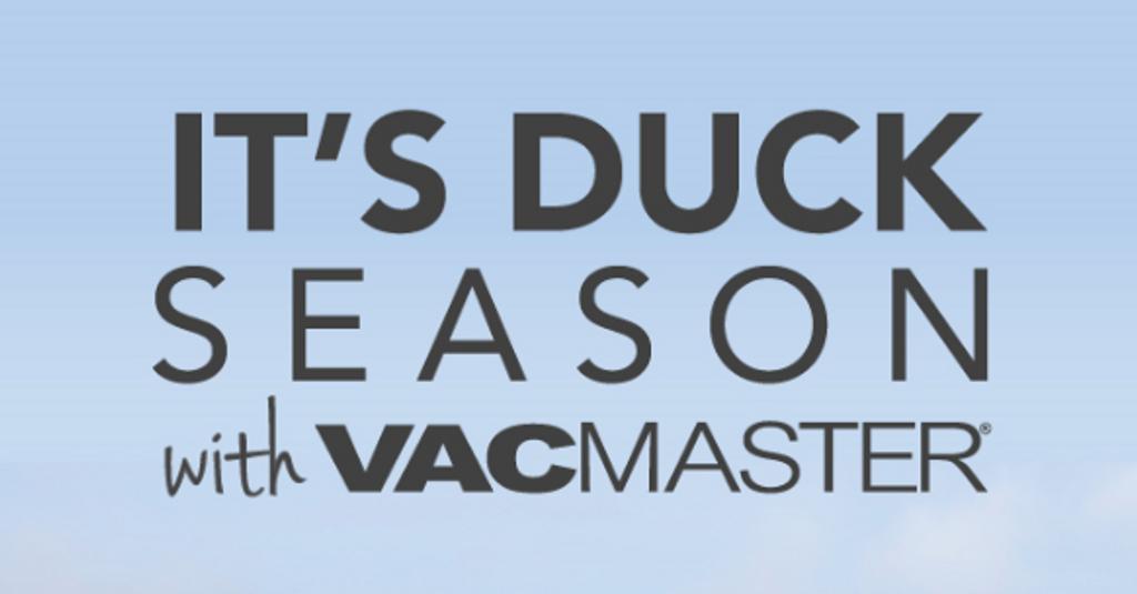 Get Prepared for Duck Season