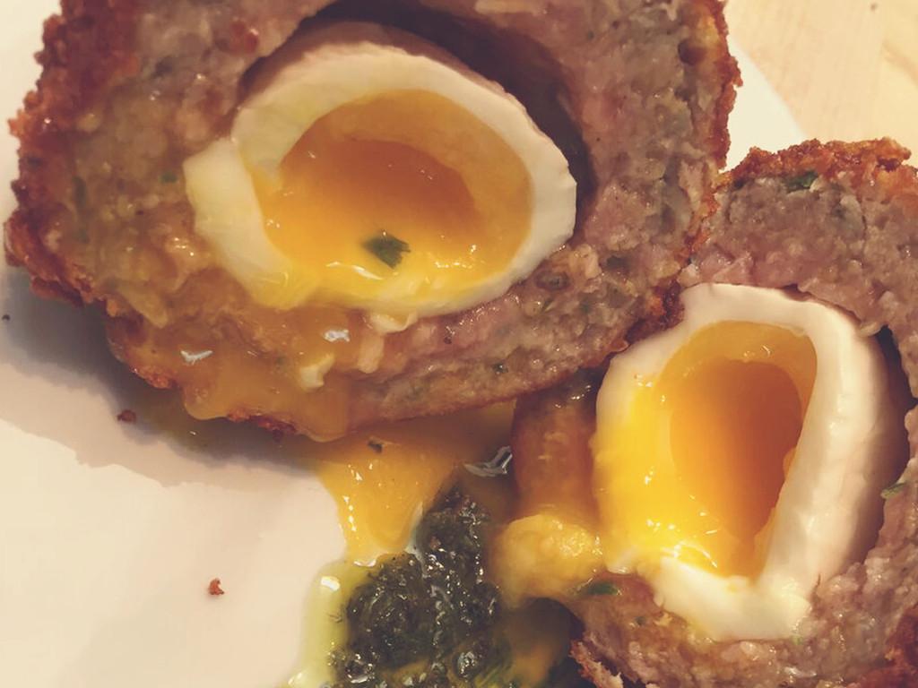 How to Sous Vide a Scotch Egg