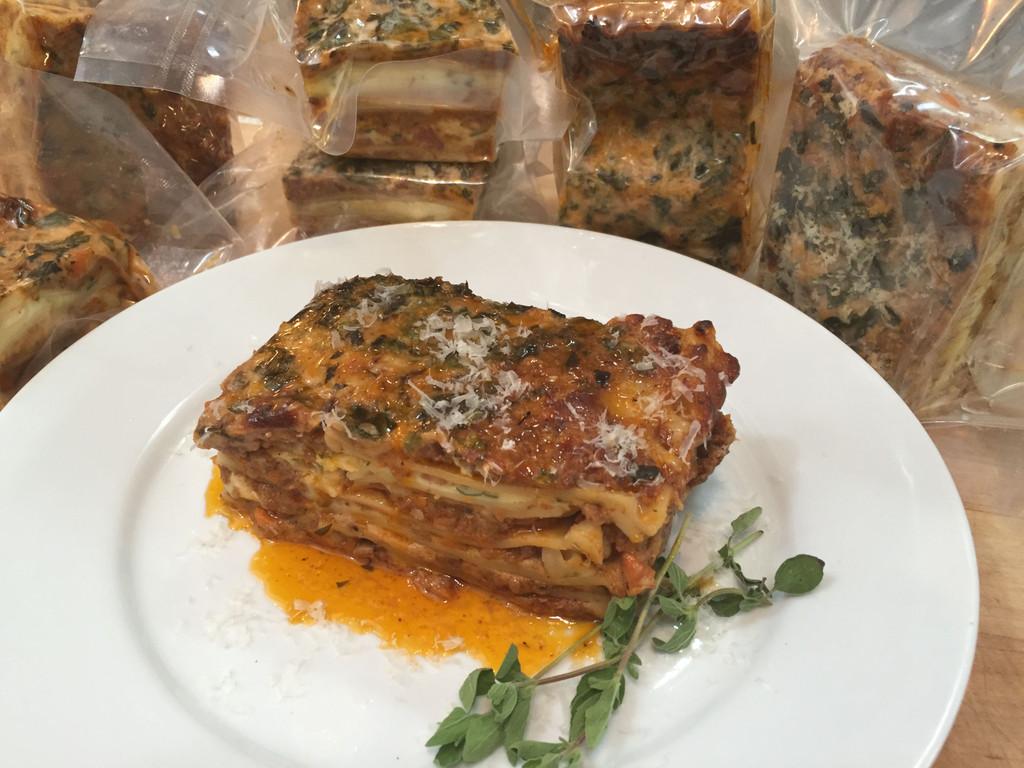 """Venison Lasagna """"Bolognese"""""""