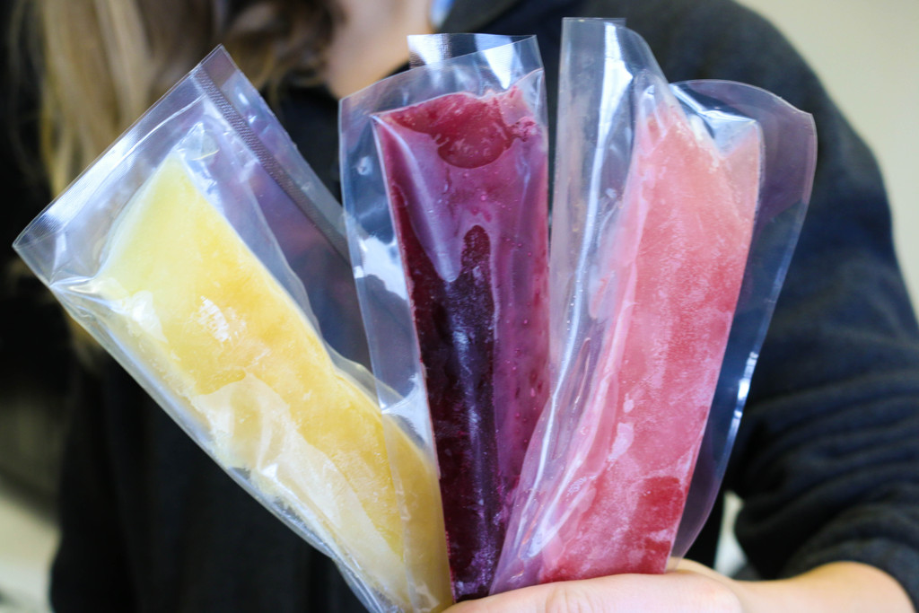 Homemade Popsicle's for Spring Break