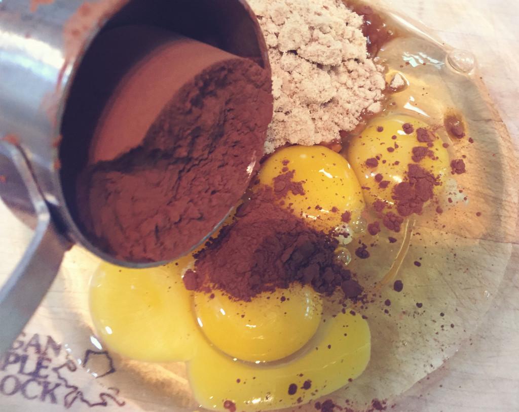 Chocolate Maple Pudding