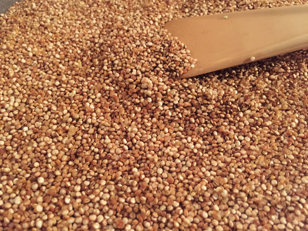 Toasted Quinoa Sous Vide