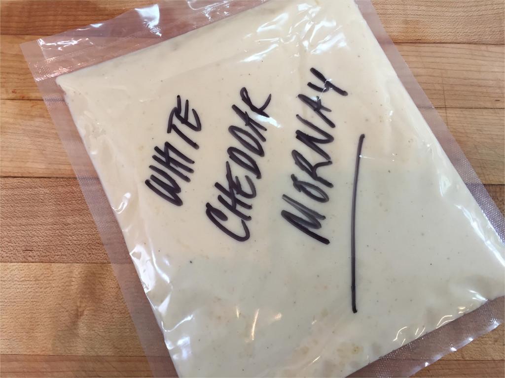 White Cheddar & Parmesan Mornay Sauce