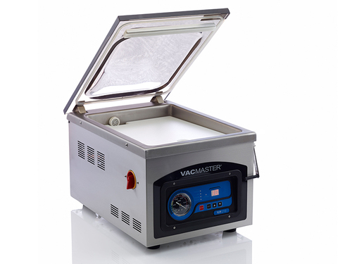 VacMaster VP210 chamber vacuum sealer with see-through lid