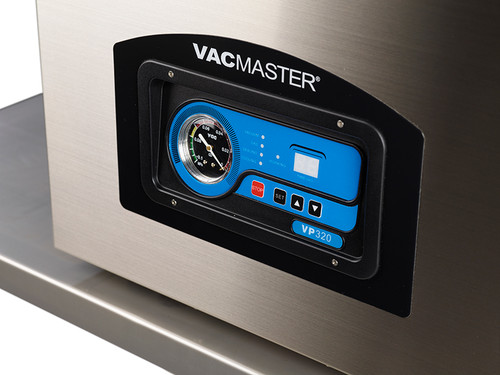 VacMaster VP320 chamber vacuum seal food in spacious chamber
