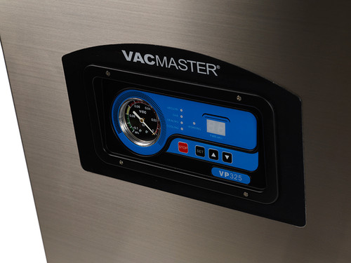 Vacmaster VP325 chamber vacuum packaging unit with programmable controls