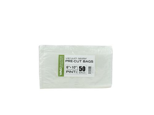 """Bulk - 6"""" x 10"""" Full Mesh Vacuum Seal Pint Bags - 50 Pack"""