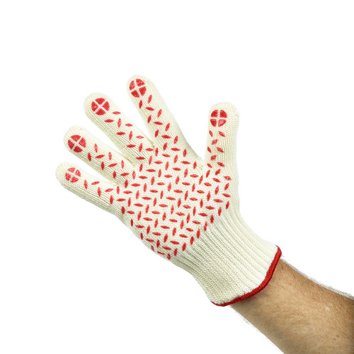 Heat Resistant Hot Glove with Silicone Grips