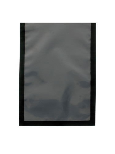 """6"""" x 8"""" 3Mil Black and Clear Vacuum Chamber Bag"""