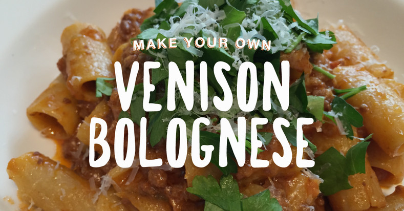 Venison Bolognese – Make a Large Batch and Vacuum Seal to Save
