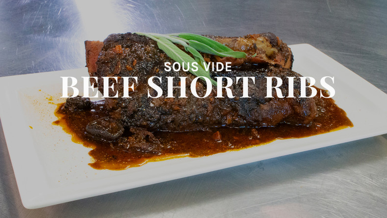 Sous Vide Short Ribs Recipe